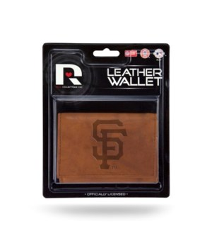 MANMADE LEATHER WALLET - SF GIANTS