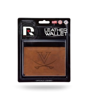 MANMADE LEATHER WALLET - UNIV OF VIRGINI