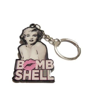 MARILYN MONROE KEY CHAIN - BOMBSHELL #1