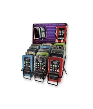 *I-PH 5 wallet/case/wristlet 24 pc disp