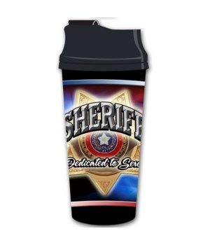 Sheriff thermal mug