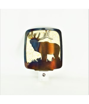 Elk Side View  Night Light