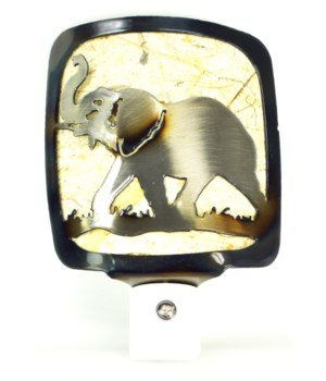 Bull Elephant  Night Light
