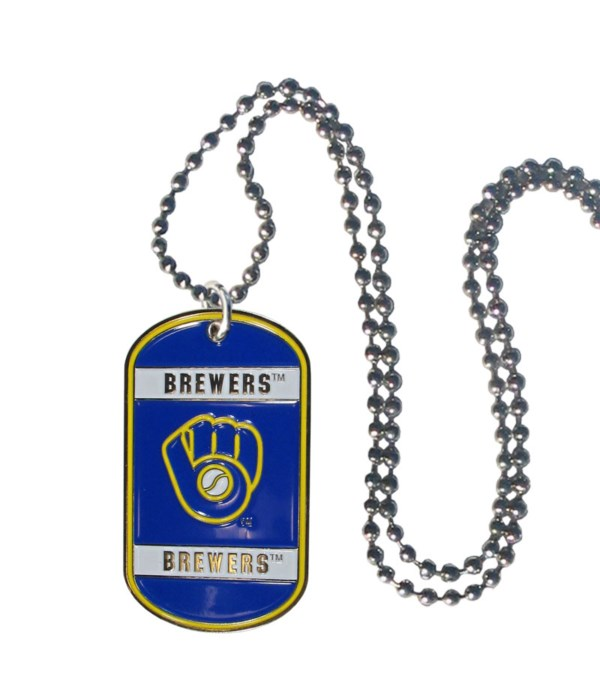 NECK TAG - MIL BREWERS