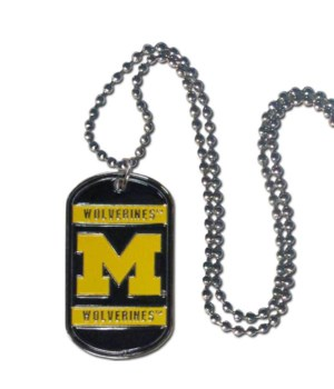 NECK TAG - MICH WOLVERINES