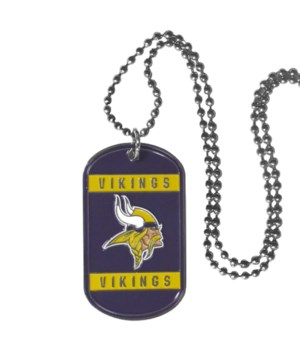 NECK TAG - MINN VIKINGS