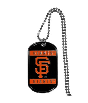 NECK TAG - SAN FRAN GIANTS