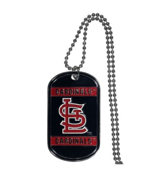 NECK TAG - ST LOUIS CARDINALS