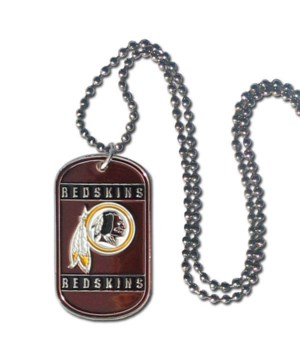 NECK TAG - WASH REDSKINS