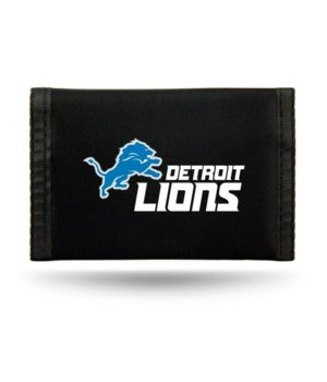 DET LIONS NYLON WALLET
