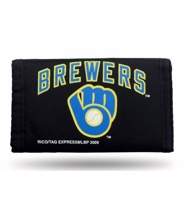 MIL BREWERS NYLON WALLET