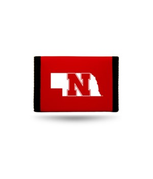 NEBRASKA NYLON WALLET
