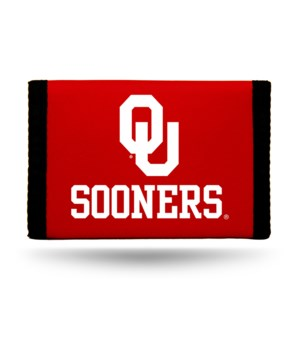 OKL SOONERS NYLON WALLET