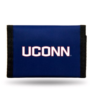 UCONN HUSKIES NYLON WALLET