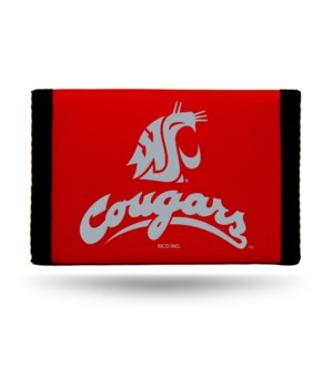 WASH STATE COUGARS NYLON WALLET