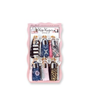 Lipbalm Holder Keychain 24PC
