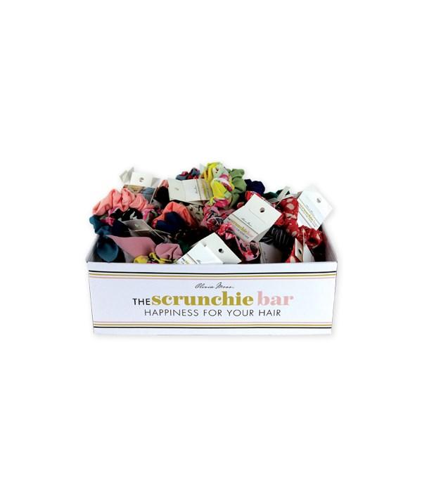 3PC Set Scrunchies w/Display 36PC