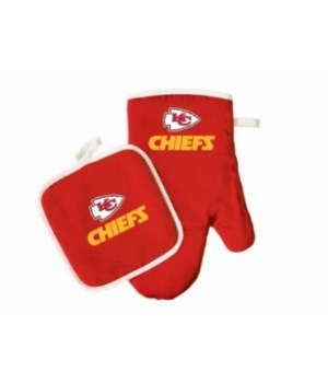 OVEN MITT/POT HOLDER - KC CHIEFS