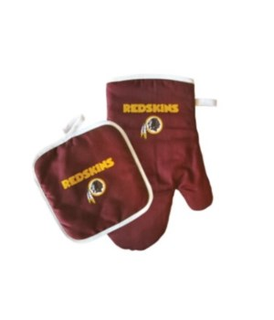 OVEN MITT/POT HOLDER - WASH REDSKINS