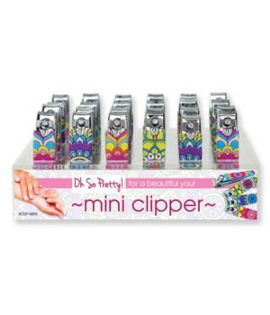 Silicone Mini Nail Clipper 24PC