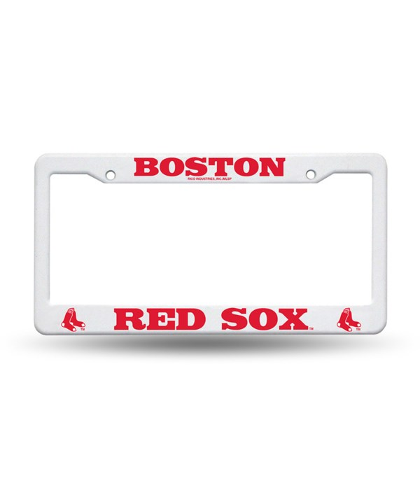 BOS RED SOX PLASTIC FRAME