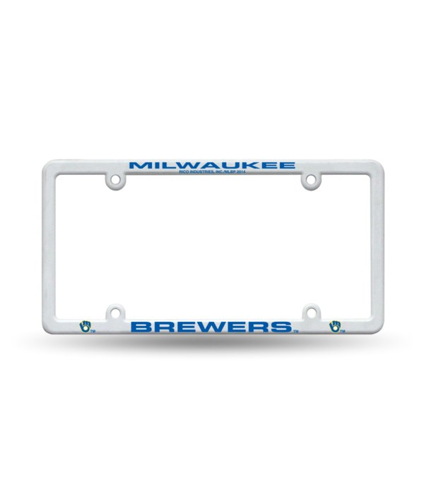 MIL BREWERS PLASTIC AUTO FRAME
