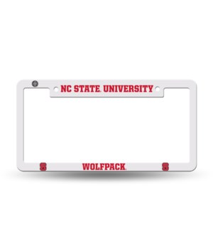 NC STATE WOLFPACK PLASTIC FRAME