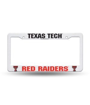 TEXAS TECH PLASTIC FRAME