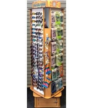 126 Piece Sunglass / cell Floor display