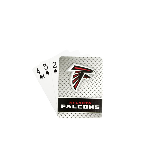 ATL FALCONS PLAYING CARDS