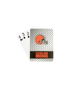 CLEV BROWNS PLAYING CARDS