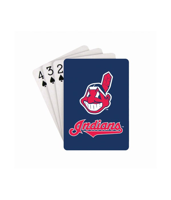 CLEV INDIANS PLAYING CARDS
