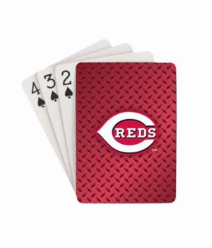 CIN REDS PLAYING CARD