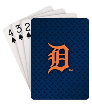 DET TIGERS PLAYING CARDS