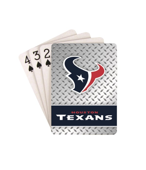 HOU TEXANS PLAYING CARDS