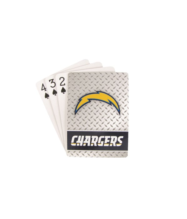 LA CHARGERS PLAYING CARDS