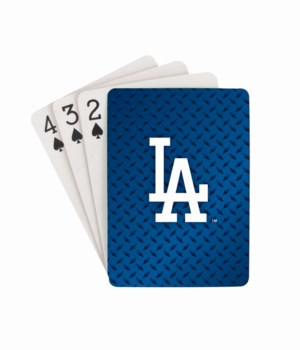 LA DODGERS PLAYING CARDS