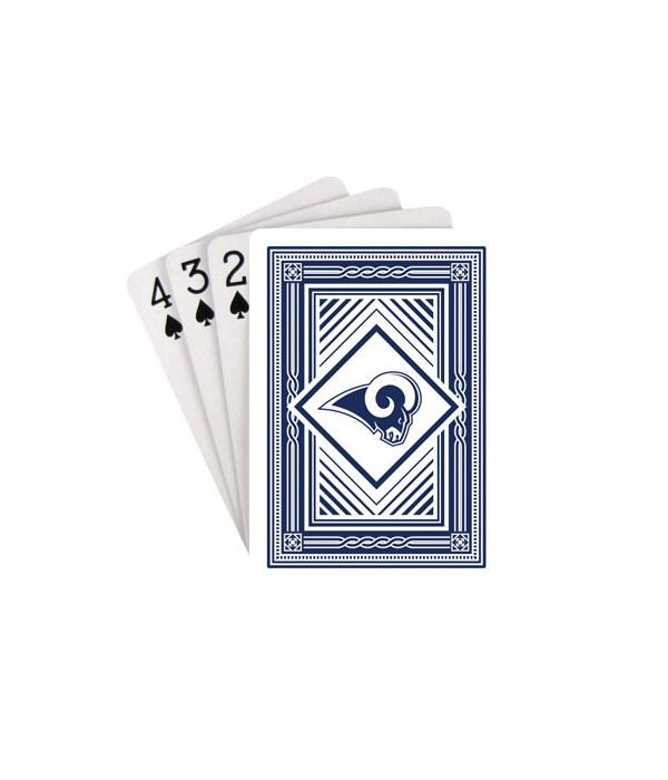 LA RAMS PLAYING CARD