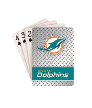 MIA DOLPHINS PLAYING CARDS