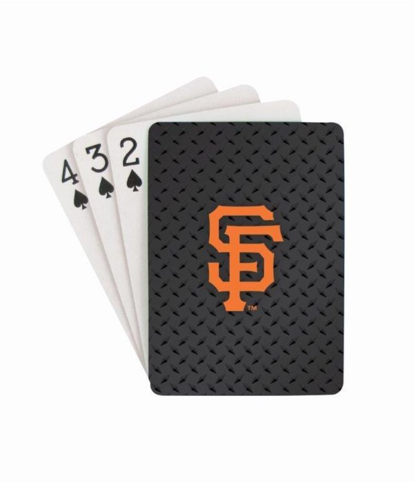 SF GIANTS PLAYING CARDS