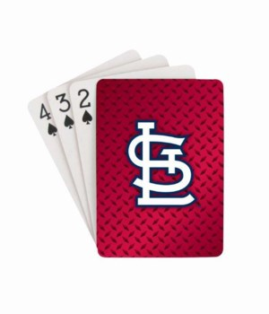 ST LOUIS CARDINALS PLAYING CARDS