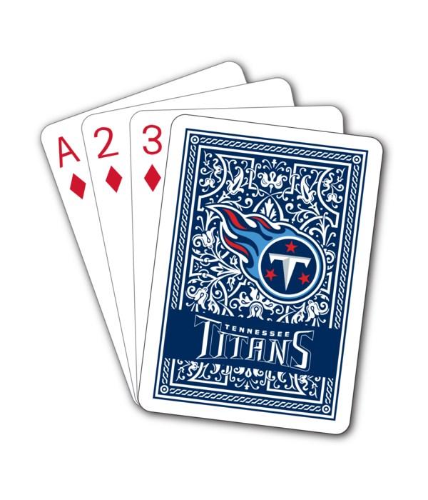 TENN TITANS PLAYING CARDS