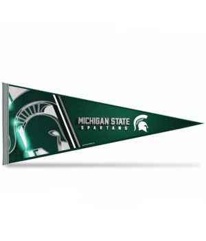MICHIGAN STATE 12X30 PENNANT