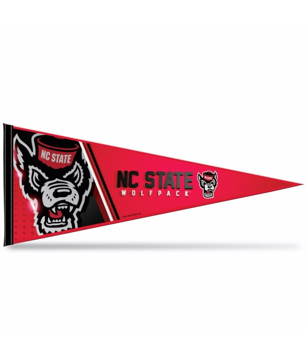 NC STATE 12X30 PENNANT