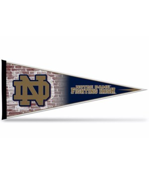 NOTRE DAME 12X30 PENNANT