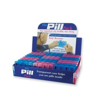 7 Day Plastic Pill Pack 24PC