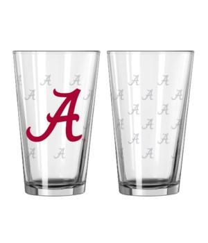GLASS PINT SET - ALABAMA