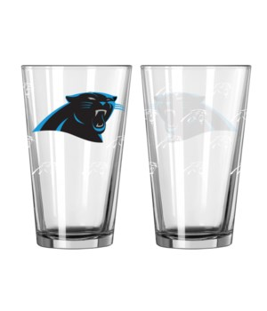 GLASS PINT SET - CAR PANTHERS