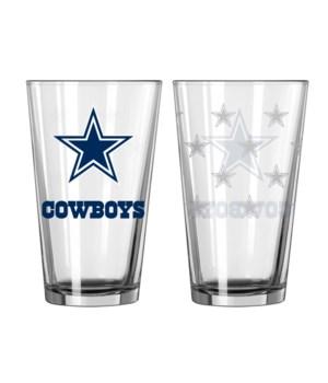 GLASS PINT SET - DAL COWBOYS