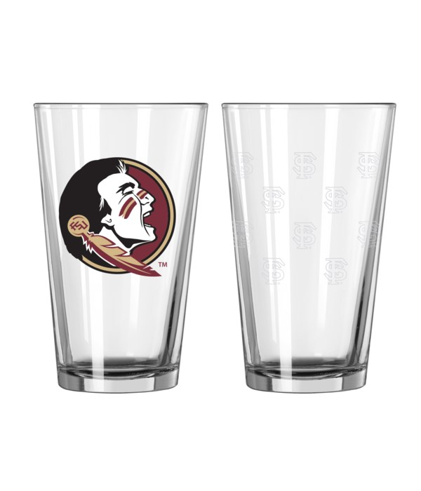 GLASS PINT SET - FLORIDA STATE
